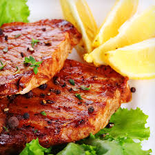 baked tamari lemon pork chops recipe atkins