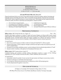 Inventory Analyst Cover Letter Billing Analyst Cover Letter