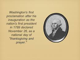 thanksgiving day proclamation the story of thanksgiving ppt download