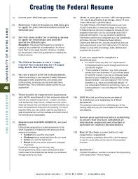 Federal Job Resume Help by Tips For Writing A Federal Resume Homeland Security 2017 Best