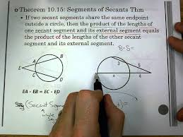 Segment Lengths In Circles Worksheet Answers Sec 10 6 Segment Length In Circles