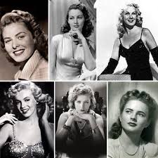 hairstyles of actresses in their 40s 1940s hairspiration hollywood actresses vintage hollywood and