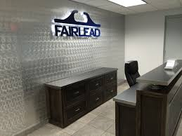 Desk Signs For Office Fairlead Corporate Office Custom Signs Reception Desk And