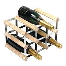 wall mounted wine rack 9 bottle capacity black u2013 easyvbapps com