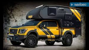 nissan pickup with camper kit youtube