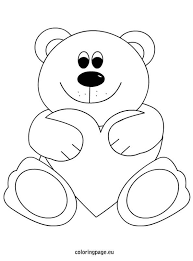 teddy bear coloring pages 4 nice coloring pages for kids