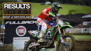 motocross race results results sheet 2017 mxgp of switzerland motocross feature