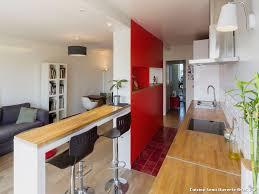 cuisine ouverte avec bar sur salon cuisine semi ouverte avec bar cuisine en image