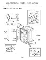 Lg Dishwasher 3850dd3006a Lg 4933dd3001b Hinge Cable Assembly Appliancepartspros Com