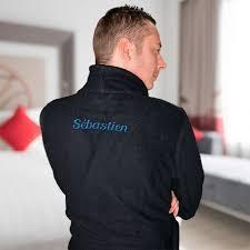 robe de chambre homme personnalisé personnalisez en quelques clics ce doux et confortable peignoir homme