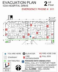 fire exit floor plan template great fire exit plan template gallery exle resume ideas