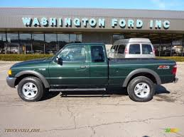 green ford ranger 2003 ford ranger fx4 supercab 4x4 in highland green metallic