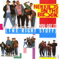 chartarchive new kids on the block you got it the right stuff