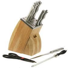 bloc de couteaux de cuisine bloc couteaux de cuisine inox couteaux ciseaux et aiguiseur