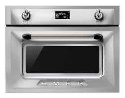 Dominos Pizza Compiegne by Smeg Compact Combi Microwave Oven Sf4140mcb White Glass Linea Desig