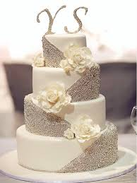 silver wedding cakes 20 gorgeous wedding cakes that wow white wedding cakes wedding