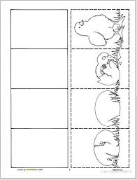sequencing worksheets kindergarten 28 templates best 25