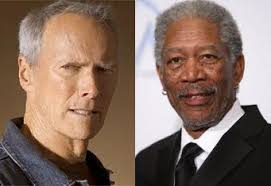famous older actors clint eastwood is a republican morgan freeman is a democrat