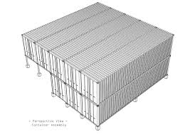 shipping container house container assembly shipping container