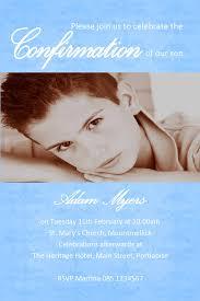 Confirmation Invitation Cards Personalised Confirmation Invitations Son Design 2