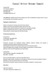 sample driver resume unforgettable truck driver resume examples