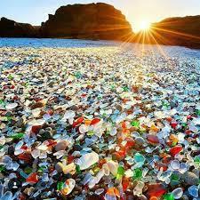 beach of glass glass beach fort bragg california usa pics