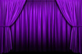 Curtains With Purple In Them Purple Stage Curtains Background