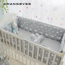 Bed Crib Newborn Crib Bedding Set 5pcs Bed Linen 100 Cotton 5pcs Baby Cot