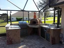 Outdoor Kitchen Pizza Oven Design Awesome Kitchens Great Outdoor Kitchen Wood Fired Pizza