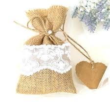 bulk burlap wedding favor bags bulk burlap gift bags or treat bags set of four