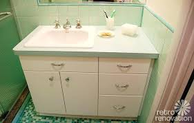 Mid Century Bathroom Lighting Mid Century Bathroom Sink Best Ideas On Retro Decor Bathrooms