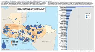 Map Of South And Central America Dhs Violence Poverty Is Driving Children To Flee Central
