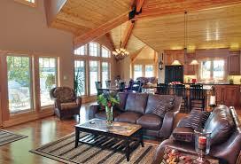 harmonious living spaces linwood custom homes