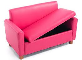 Childs Pink Armchair Kid Toddler Child Armchair Recliner Chair Boy Drink Holder