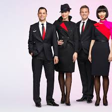 blue martini uniform dressed to impress qantas switches to new uniform australian