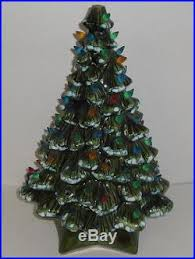18 large vintage ceramic tree with stand bulbs