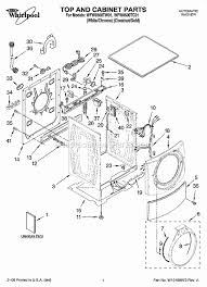 whirlpool wfw9500tw01 parts list and diagram ereplacementparts com