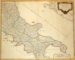 Pompeii Map Maps Bay Of Naples