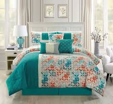 coral and teal twin bedding the theme teal and coral bedding