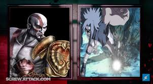 vs sasuke kratos vs sasuke uchiha the battle by hakuxtemari on deviantart