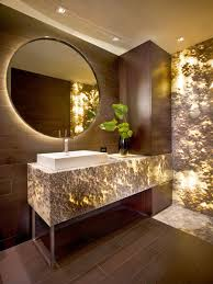 A Touch Of Luxury Onyx In The Home Bathroom Interior Design - Interior designer bathroom