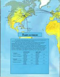Turkish Airlines Route Map by Airlines Past U0026 Present 2012