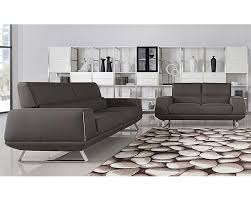 Grey Modern Sofa Sofa Decorative Fabric Sofa Set For Home Modern In Grey 44l5938