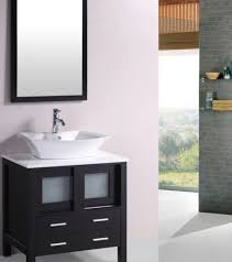 30 Inch Vanity Cabinet 30 Inch Bathroom Solid Wood Single Vanities Cabinets With White