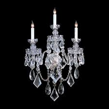 Chandelier Mural Wall Sconce Ideas Three Pieces Traditional Crystal Materials