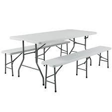 Folding Table Amazon Com Best Choice Products 3pc Portable 6 U0027 Folding Table And
