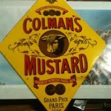 colman mustard vintage enamel colman s mustard sign 1977 collectors weekly