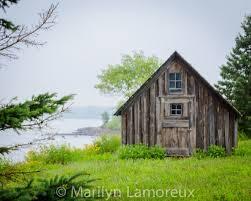landscape house fine art landscape photograph lake superior shore fish house