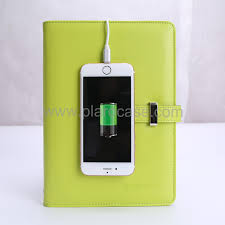 design bank a6 power bank notebook with usb memory 3 cables design shenzhen