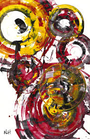 contemporary art abstract painting modern this could make